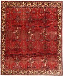 Kurdi Rug 270X320 Authentic  Oriental Handknotted Dark Red/Rust Red Large (Wool, Persia/Iran)