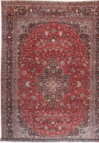 Keshan Matto 360X527 Itämainen Käsinsolmittu Tummanpunainen/Ruskea Isot (Villa, Persia/Iran)