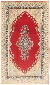 Kerman Rug 120X200 Authentic  Oriental Handknotted Light Brown/Light Pink (Wool, Persia/Iran)