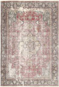 Colored Vintage Rug 218X323 Authentic  Modern Handknotted Light Grey/White/Creme (Wool, Persia/Iran)