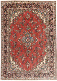 Hamadan Patina Rug 210X300 Authentic  Oriental Handknotted Light Brown/Dark Red (Wool, Persia/Iran)