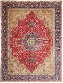 Tabriz Patina Matto 295X390 Itämainen Käsinsolmittu Ruoste/Tummanpunainen Isot (Villa, Persia/Iran)