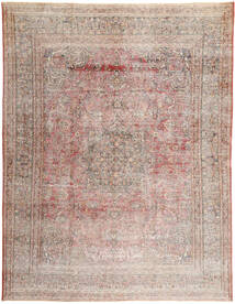 Colored Vintage Dywan 300X385 Nowoczesny Tkany Ręcznie Jasnoszary/Jasnobrązowy Duży (Wełna, Persja/Iran)