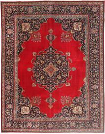 Tabriz Patina Rug 292X378 Authentic  Oriental Handknotted Dark Red/Dark Brown/Crimson Red Large (Wool, Persia/Iran)