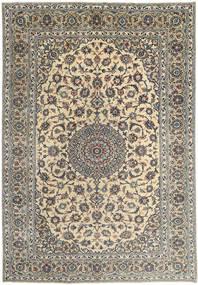 Mashad Rug 245X350 Authentic  Oriental Handknotted Light Brown/Dark Grey (Wool, Persia/Iran)