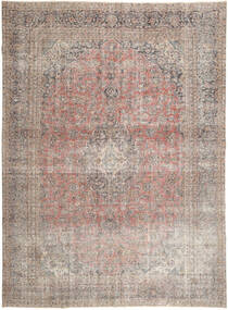 Colored Vintage Tapis 283X390 Moderne Fait Main Gris Clair Grand (Laine, Perse/Iran)