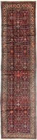 Hosseinabad Szőnyeg 108X430 Keleti Csomózású Sötétpiros/Barna (Gyapjú, Perzsia/Irán)