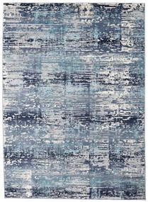 Molgan Tæppe 142X206 Moderne Lyseblå/Blå ( Tyrkiet)