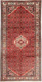 Hosseinabad Matto 160X328 Itämainen Käsinsolmittu Käytävämatto Ruskea/Tummanruskea (Villa, Persia/Iran)