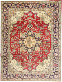 Tabriz Rug 245X340 Authentic  Oriental Handknotted Dark Red/Dark Beige (Wool, Persia/Iran)