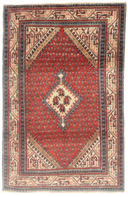 Sarouk Rug 100X160 Authentic  Oriental Handknotted Brown/Dark Red (Wool, Persia/Iran)