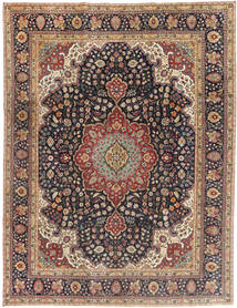 Tabriz Patina Rug 250X325 Authentic  Oriental Handknotted Light Brown/Dark Blue Large (Wool, Persia/Iran)