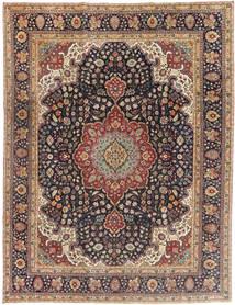 Tabriz Patina Matto 250X325 Itämainen Käsinsolmittu Vaaleanruskea/Tummansininen Isot (Villa, Persia/Iran)