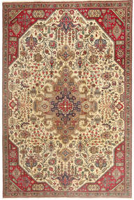 Tabriz Patina Rug 190X280 Authentic  Oriental Handknotted Brown/Light Brown (Wool, Persia/Iran)