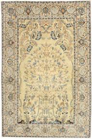 Keshan Patina Matto 210X320 Itämainen Käsinsolmittu Vaaleanruskea/Beige (Villa, Persia/Iran)