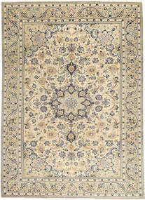 Najafabad Patina Teppe 222X310 Ekte Orientalsk Håndknyttet Lys Grå/Beige (Ull, Persia/Iran)