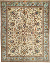 Tabriz Patina Rug 308X393 Authentic  Oriental Handknotted Light Brown/Brown Large (Wool, Persia/Iran)