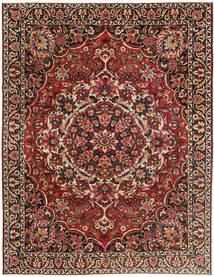 Bakthiari Patina Covor 267X360 Orientale Lucrat Manual Maro Închis/Roșu-Închis Mare (Lână, Persia/Iran)