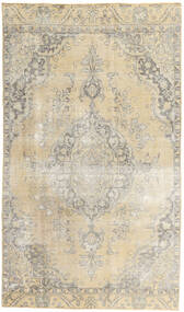 Colored Vintage Rug 187X315 Authentic  Modern Handknotted Light Grey/Beige (Wool, Persia/Iran)