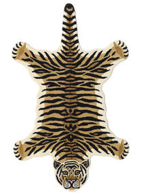 Tiger - Beige Rug 100X160 Modern Black/Light Brown (Wool, India)