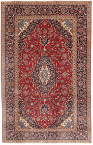 Keshan Patina Rug 190X300 Authentic  Oriental Handknotted Dark Brown/Dark Red (Wool, Persia/Iran)