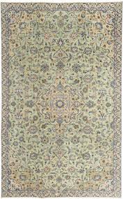 Keshan Patina Matto 190X313 Itämainen Käsinsolmittu Tummanharmaa/Vaaleanharmaa (Villa, Persia/Iran)