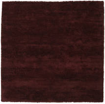 New York - Wine Tapis 250X250 Moderne Carré Marron Foncé Grand (Laine, Inde)