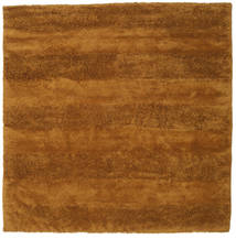 New York - Mustard Yellow Rug 250X250 Modern Square Brown/Orange Large (Wool, India)