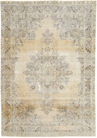 Colored Vintage Rug 238X348 Authentic  Modern Handknotted Light Grey/Beige (Wool, Persia/Iran)