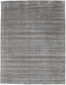 Bamboo Grass - Black_ Szary Dywan 300X390 Nowoczesny Jasnoszary/Ciemnoszary Duży (Wełna/Jedwab Bambusowy, Indie)