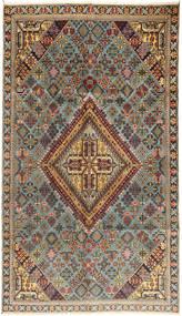 Meimeh Matto 160X272 Itämainen Käsinsolmittu Vaaleanruskea/Tummanruskea (Villa, Persia/Iran)