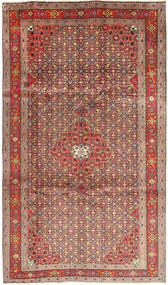 Ardebil Rug 197X338 Authentic  Oriental Handknotted Brown/Light Brown (Wool, Persia/Iran)