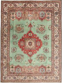 タブリーズ 絨毯 298X410 オリエンタル 手織り 薄茶色/パステルグリーン 大きな (ウール, ペルシャ/イラン)