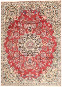 Kerman Teppich  232X335 Echter Orientalischer Handgeknüpfter Rost/Rot/Hellbraun (Wolle, Persien/Iran)