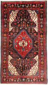 Nahavand Rug 160X290 Authentic Oriental Handknotted Dark Brown/Brown (Wool, Persia/Iran)