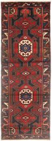 Saveh Matto 105X295 Itämainen Käsinsolmittu Käytävämatto Tummanpunainen/Musta (Villa, Persia/Iran)