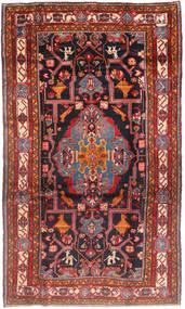 Nahavand Matto 167X280 Itämainen Käsinsolmittu Tummanpunainen/Ruskea (Villa, Persia/Iran)