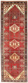 Saveh Covor 100X320 Orientale Lucrat Manual Roșu-Închis/Maro Deschis (Lână, Persia/Iran)