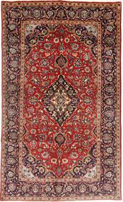 カシャン 絨毯 143X243 オリエンタル 手織り 濃い茶色/茶 (ウール, ペルシャ/イラン)
