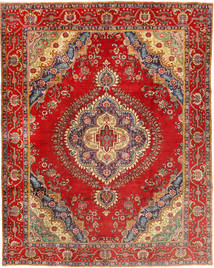 Tabriz Rug 300X378 Authentic Oriental Handknotted Rust Red/Light Brown Large (Wool, Persia/Iran)