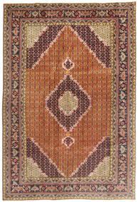 アルデビル 絨毯 200X296 オリエンタル 手織り 薄茶色/茶 (ウール, ペルシャ/イラン)