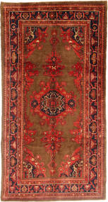 Koliai Rug 161X320 Authentic  Oriental Handknotted Hallway Runner  Rust Red/Dark Red (Wool, Persia/Iran)