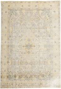 Colored Vintage Rug 198X293 Authentic  Modern Handknotted Light Grey/Dark Beige (Wool, Persia/Iran)