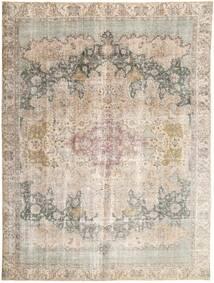 Colored Vintage Tapis 293X385 Moderne Fait Main Marron Clair/Gris Clair Grand (Laine, Perse/Iran)