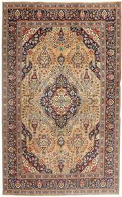 Tabriz Patina Rug 203X320 Authentic  Oriental Handknotted Light Brown/Dark Brown (Wool, Persia/Iran)