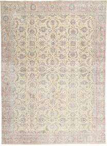 Colored Vintage Dywan 275X380 Nowoczesny Tkany Ręcznie Jasnoszary/Beżowy Duży (Wełna, Persja/Iran)