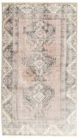 Colored Vintage Dywan 102X183 Nowoczesny Tkany Ręcznie Jasnoszary/Biały/Creme (Wełna, Persja/Iran)