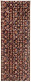 Tabriz Matta 55X155 Äkta Orientalisk Handknuten Hallmatta Ljusbrun/Mörkröd (Ull, Persien/Iran)