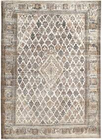 Colored Vintage Rug 240X333 Authentic  Modern Handknotted Light Brown/Light Grey (Wool, Persia/Iran)