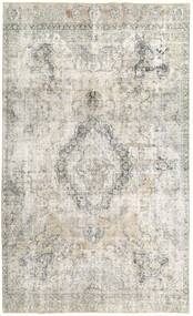 Colored Vintage Rug 207X340 Authentic  Modern Handknotted Light Grey/Dark Beige (Wool, Persia/Iran)